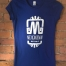 women's-blue-t-shirt